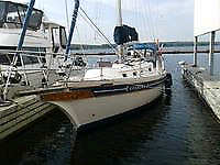 36 Bayfield sailboat Cutter