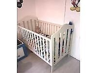 White Mamas & Papas Large COT BED