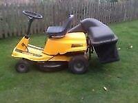 McCourt ride on lawnmower