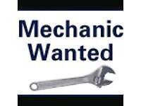 MECHANICS WANTED FULL TIME PART TIME BODY SHOP MOT WORK SERVICING