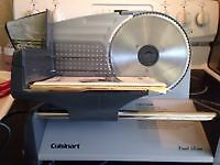 Cuisinart meat slicer - used twice