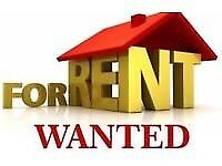 Urgent! Wanted: house to rent Bangor +15 miles