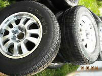 gm truck or suburban rims and tires