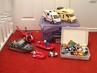 Playmobil Hospital / Ambulance / Boats / Helicopter / Campervan