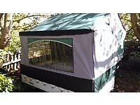 Cabanon Venus Trailer Tent with awning. 2 berth. Very lightweight, easy to tow. Extras
