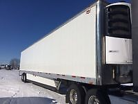 vanguard trailer with thermoking c600 reefer