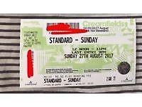 Creamfields sunday ticket