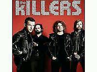 The Killers, O2 Arena, Standing