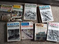 Job lot of 1970s & 80s model railway engineer magazine