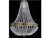 NEW LARGE EASY FIT VICTORIA JEWELS CHANDELIER LIGHT PENDANT SHADE CEILING