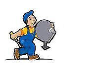 Satellite Dish Installation and Repair cctv camera Services Telephone and Broadband