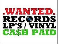 Wanted records vinyl 70s 80s 90s 2000s
