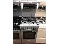 SILVER 50CM LEISURE EYE LEVEL GAS COOKER