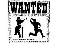 TALENTED CRICKET PLAYERS WANTED! JOIN A SATURDAY LEAGUE TEAM THIS SEASON(ARE YOU UP FOR A CHALLENGE)