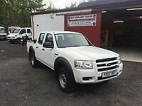 2007 FORD RANGER 2.5TDCi (143P ) 4x4 CREW DOUBLE CAB PICK UP