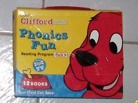 Set of Clifford Phonics books for sale