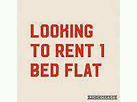 WANTED 1 bed flat