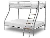 kids bed/Trio Metal Bunk Bed Frame
