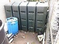 slimline oil tanks £40.00 each can be delivered