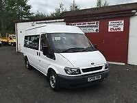 (56) FORD TRANSIT 100 T300 DIESEL MWB MINIBUS DISABLED WHEELCHAIR RAMP