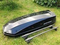 Halford roof bar &roof box