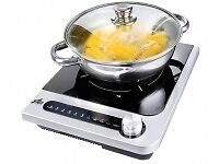 Easicook single Induction Hob and Pan with lid - camping, mobile, on the go!