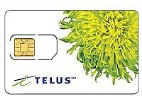 Telus prepaid SIM card for free with 200$ credit