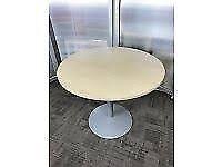 Herman Miller 1000mm Diameter Meeting Table Maple
