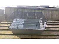 Large Hamster or small pet cage.