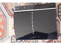 Playstation 3 Console gaming unit broken black plus extra games if you want ps3