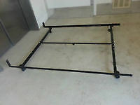 single or double or queen size metal frame can deliver