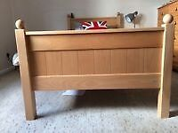 Two Matching Luxury Brand Children's Beech Single Beds