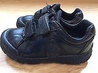 Boys Clarks Size UK 9.5 H T-Rex school shoes