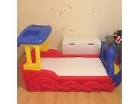 Little trikes junior bed