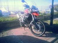 Triumph Tiger 800 Xc 2011 Orange