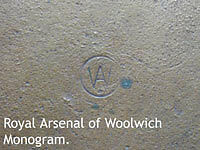 Woolwich Monogram Death Plaque