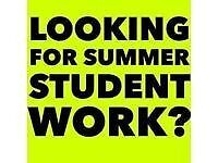 Student/part time/full time work! £7.20 basic wage