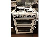 WHITE 60CM STOVES GAS COOKER