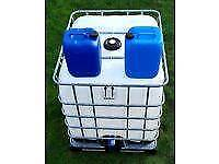1000L & 20L IBC, cubes, plastic, drums, liquid, tanks, water, containers, jars