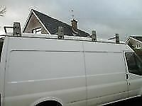 4 piece david murphy roof rack for lwb ford transit