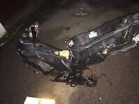 Gilera runner 200cc frame with private number plate