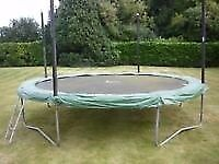12ft Jumpking JumpPOD Classic Trampoline With Brand New & Unused Spares For £150.00 Bargain