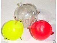 10 Large bubble floats.