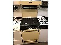 CREAM 55CM LEISURE EYE LEVEL GAS COOKER