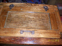 Antique solid wood icebox for sale London Ontario image 3