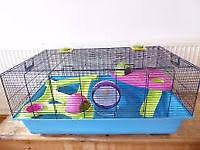 large savic hamster heaven metro hamster cage