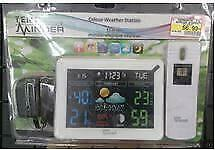 Bridgenorth Home Hardware Temp Minder Colour Weather Station