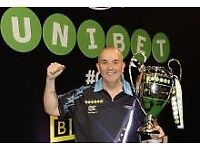 6 tickets Champion league darts - Cardiff