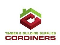 Cordiners Timber & Building Supplies Internal Sales Person / Trade Counter Person -