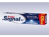 10 X Signal White System Toothpaste Whiter Teeth in 2 Weeks!!